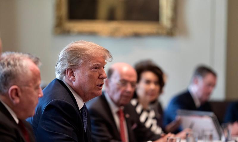 الرئيس الأمريكي دونالد ترامب- 9 نيسان 2018 (DonaldTrump)