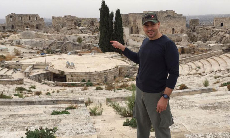 رئيس اتحاد غرف الصناعة السورية فارس الشهابي (صفحته في فيس بوك)
