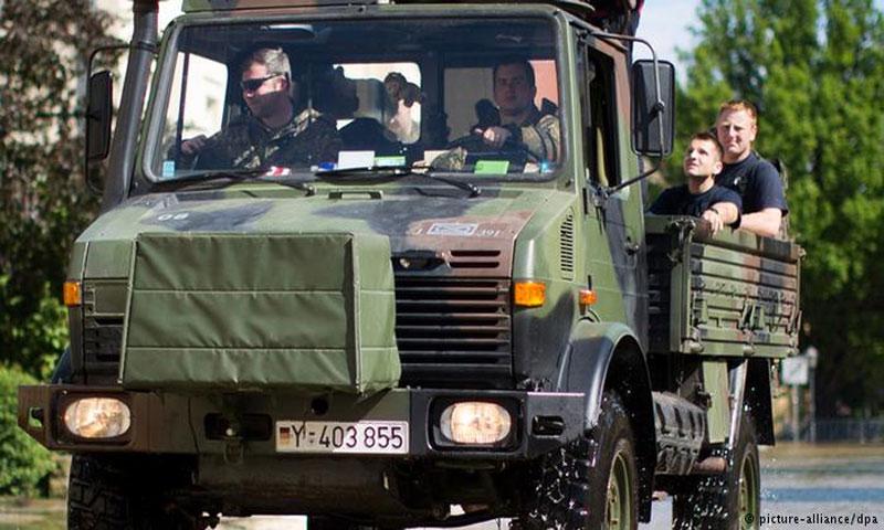 الجيش الألماني(DPA)