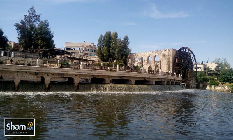 نواعير مدينة حماة تعود إلى العمل - 3 نيسان 2018 (شام إف إم)
