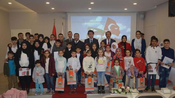 طلاب سوريون وأتراك في إحدى المدارس التركية في 19 كانون الثاني 2018(hurriyet)