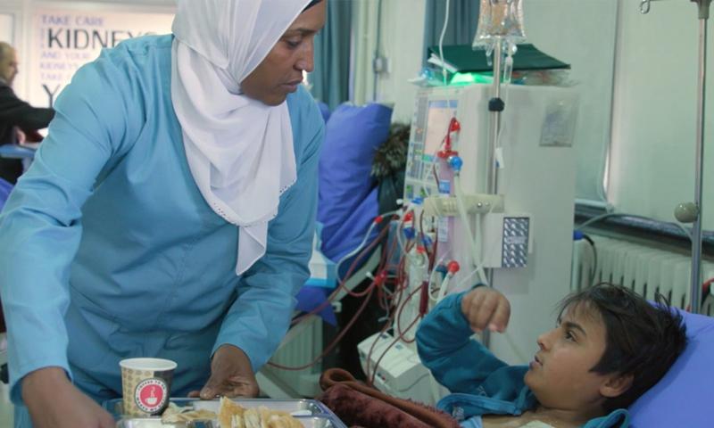 طفل سوري في لبنان يعاني من قصور في الكلى (مركز أنباء الأمم المتحدة)