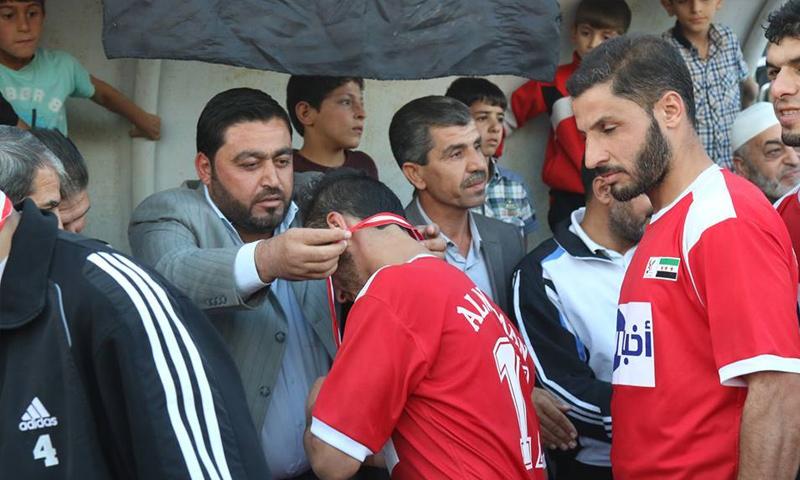"""رئيس اتحاد كرة القدم """"الحر"""" في إدلب نادر الأطرش - (الهيئة السورية للرياضة)"""