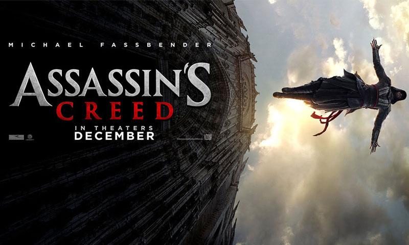 """لوغو فيلم """"assassin's creed"""" (New Regency)"""