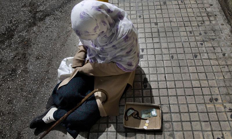 تعبيرية: متسولة في بيروت (Jodi Hilton)