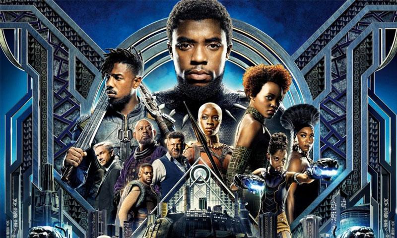 """بوستر فيلم """"Black Panther"""" (انترنت)"""