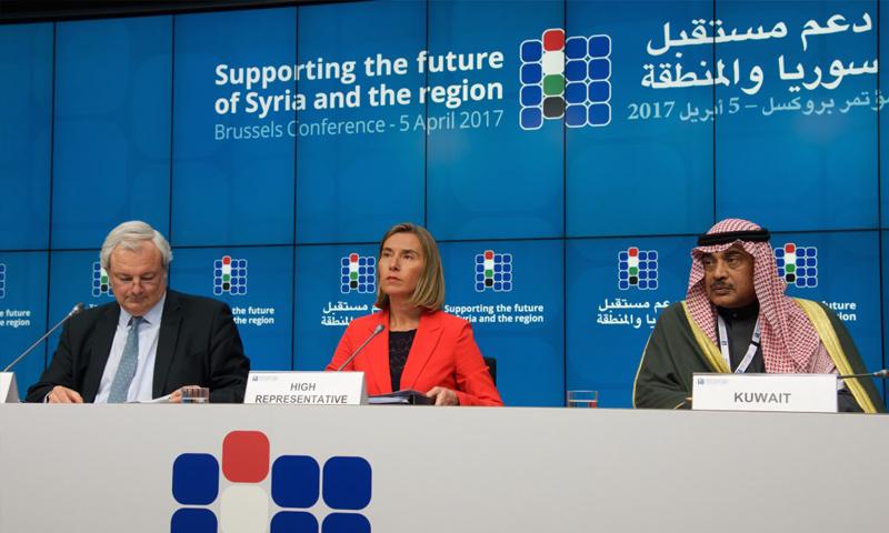 """مؤتمر """"بروكسل"""" بشأن سوريا- 5 نيسان 2017 (EU)مؤتمر """"بروكسل"""" بشأن سوريا- 5 نيسان 2017 (EU)"""