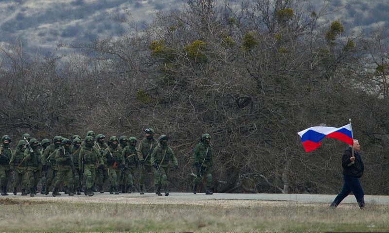 قوات روسية في شبه جزيرة القرم (FPR)