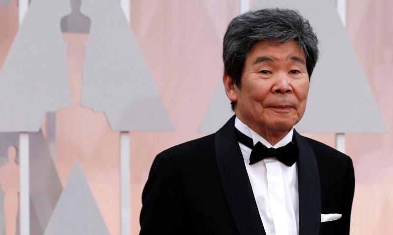 مخرج الرسوم المتحركة الياباني إيزوا تاكاهاتا (رويترز)