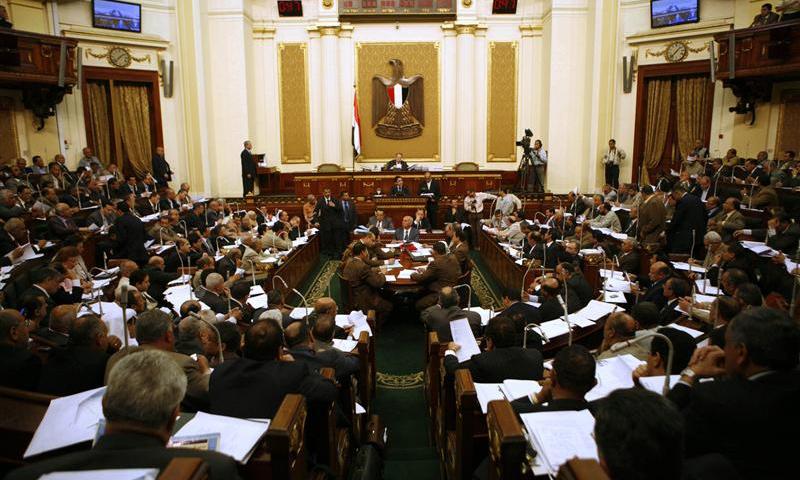 مجلس الشعب المصري (رويترز)