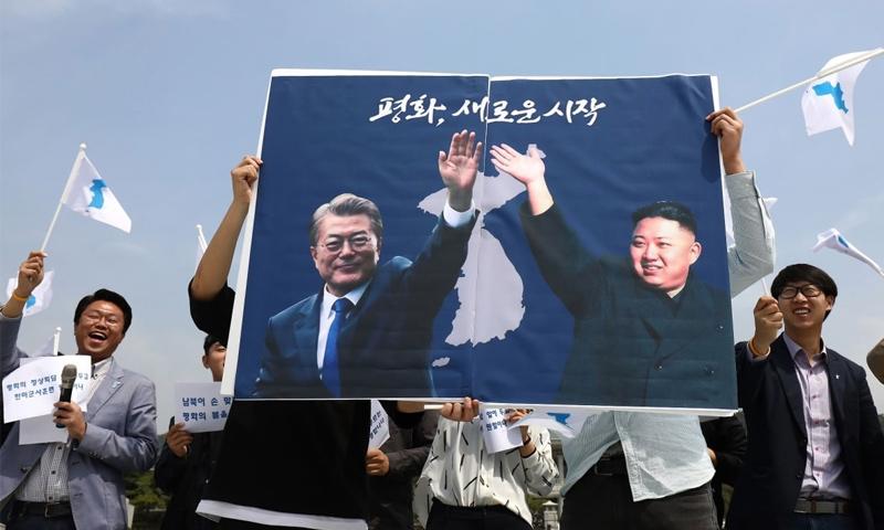 اتفاقية سلام بين الكوريتين في شبه الجزيرة الكورية (وكالات)