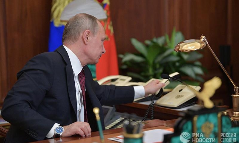 الرئيس الروسي فلاديمير بوتين (نوفوستي)