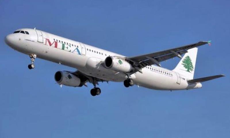 طائرة ركاب لشركة طيران الشرق الأوسط اللبنانية - (موقع الشركة)
