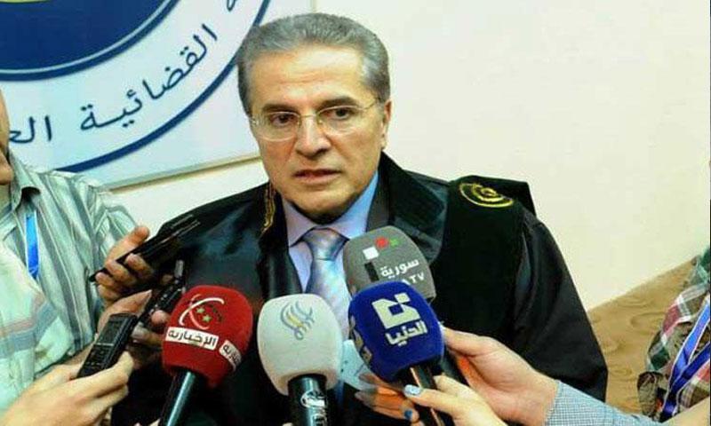 القاضي هشام الشعار وزير العدل (القدس العربي)