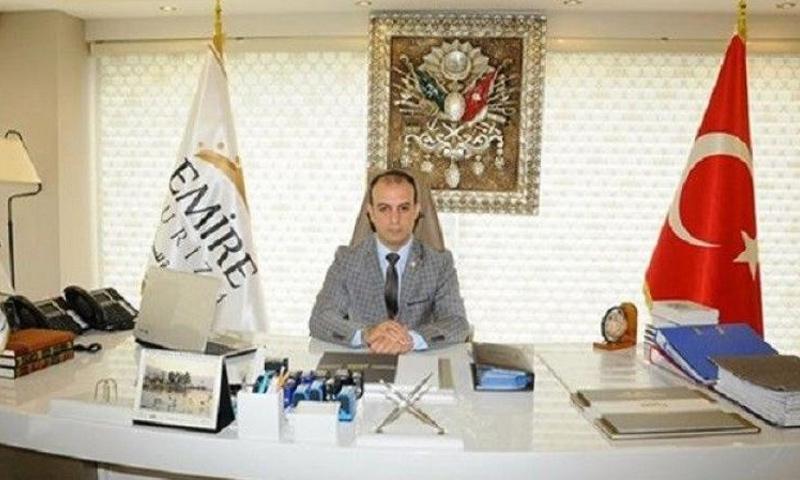 المرشح السوري للبرلمان التركي محمد الشيخوني (DHA)