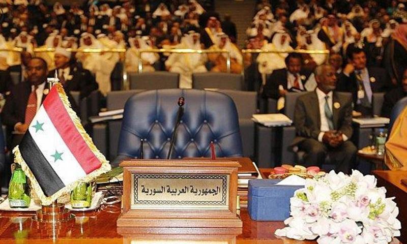 مقعد سوريا في الجامعة العربية (المدى)
