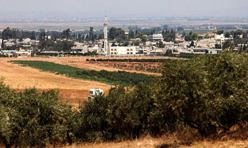 بلدة تل شهاب في محافظة درعا (The Jordan Times)