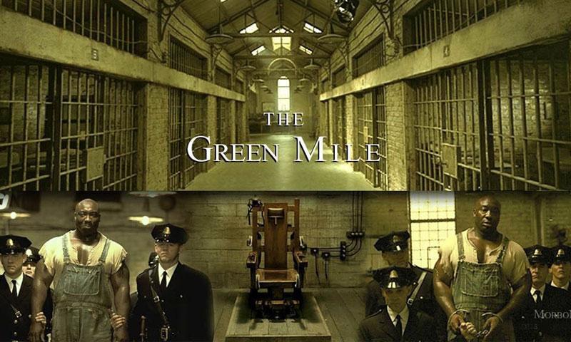 """لقطات من فيلم """"الميل الأخضر"""" (انترنت)"""