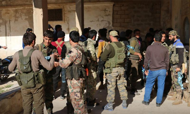 """عناصر من """"جبهة تحرير سوريا"""" - 16 من نيسان 2018 (إباء)"""