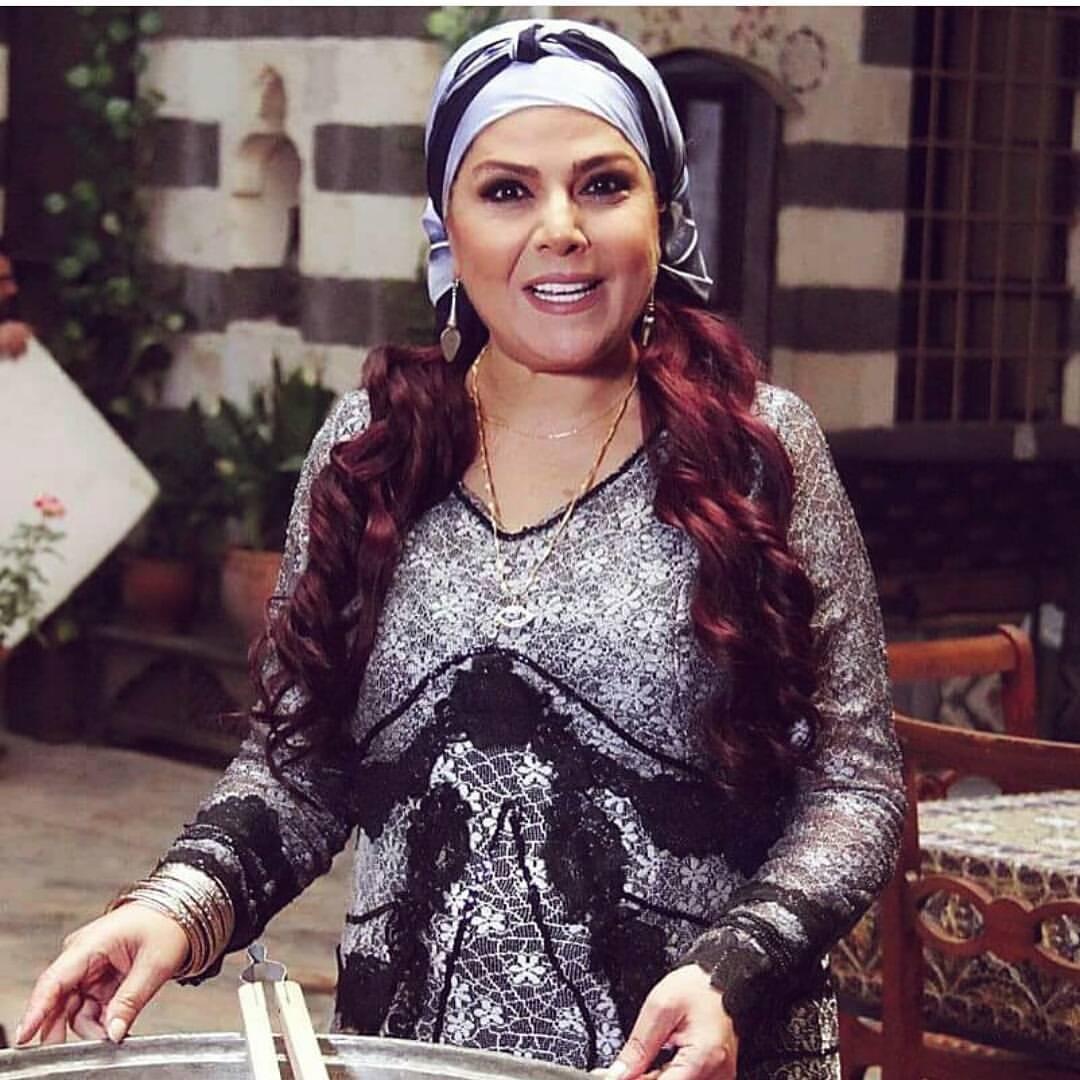 صباح الجزائري في مسلسل باب الحارة