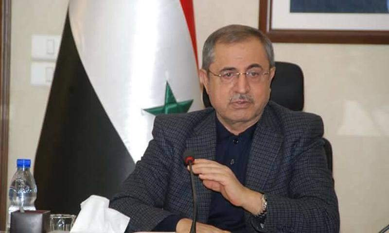 وزير الداخلية في حكومة النظام السوري، محمد الشعار (محبي اللواء محمد الشعار فيس بوك)