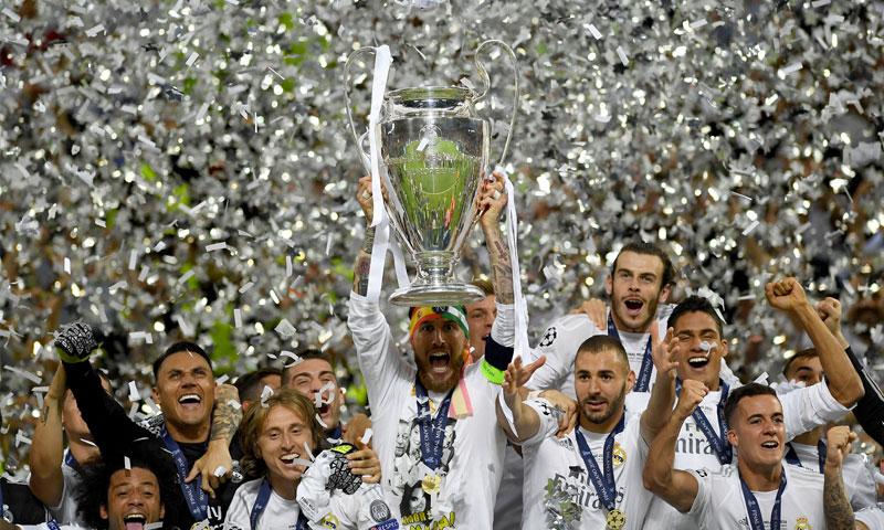 """ريال مدريد يتوج بلقب """"تشامبيونز ليج"""" في موسم 2016/2017 (goal.com)"""