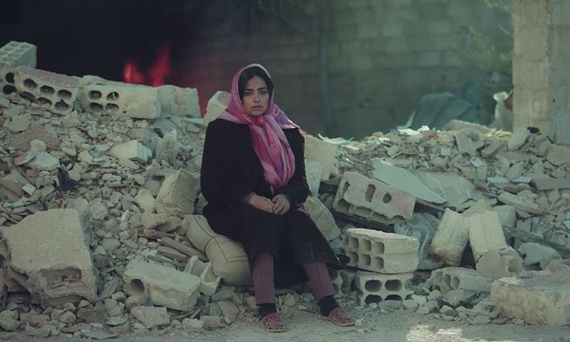 مشهد من مسلسل فوضى صور في مدينة داريا بريف دمشق (سما للإنتاج الفني)