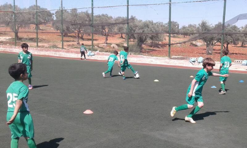 نشاطات مشروع الطفل الرياضي السوري في إدلب - 2017 (الهيئة السورية للرياضة)