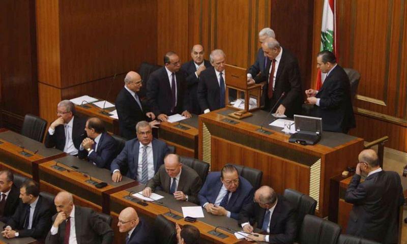 جلسة للبرلمان اللبناني (انترنت)
