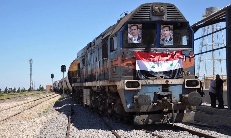 سكة حديد حمص- خنيفيس لنقل الفوسفات (دمشق الآن)