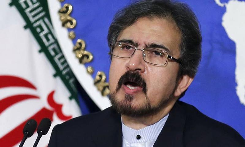 المتحدث باسم الخارجية الإيرانية بهرام قاسمي (قناة العالم)