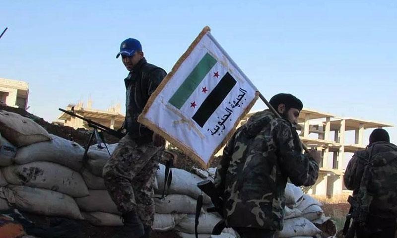 فصائل الجبهة الجنوبية في درعا (السورية نت )