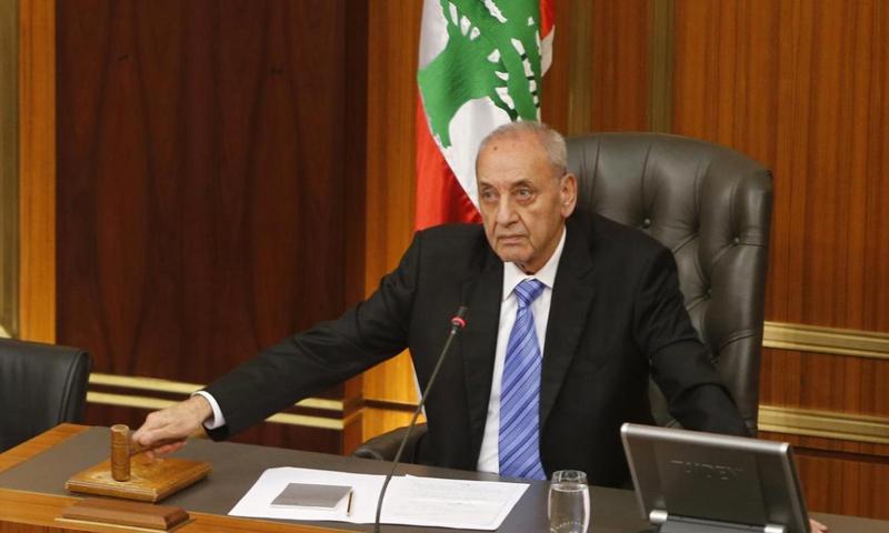 رئيس مجلس النواب اللبناني نبيه بري (رويترز)
