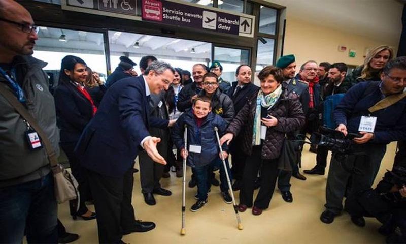 استقبال 500 لاجئ عبر الممرات الإنسانية في إيطاليا في كانون الأول 2017 (veronafedele)