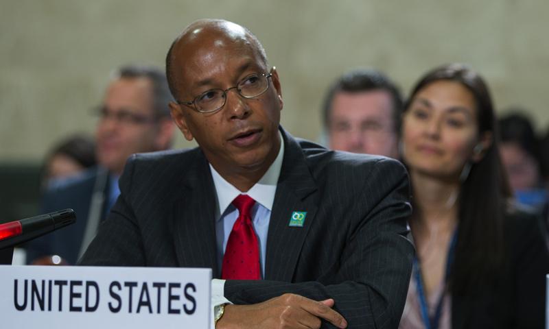 ممثل الولايات المتحدة في مؤتمر نزع السلاح الكيماوي، روبرت وود (موقع البعثة الأمريكية في جنيف)
