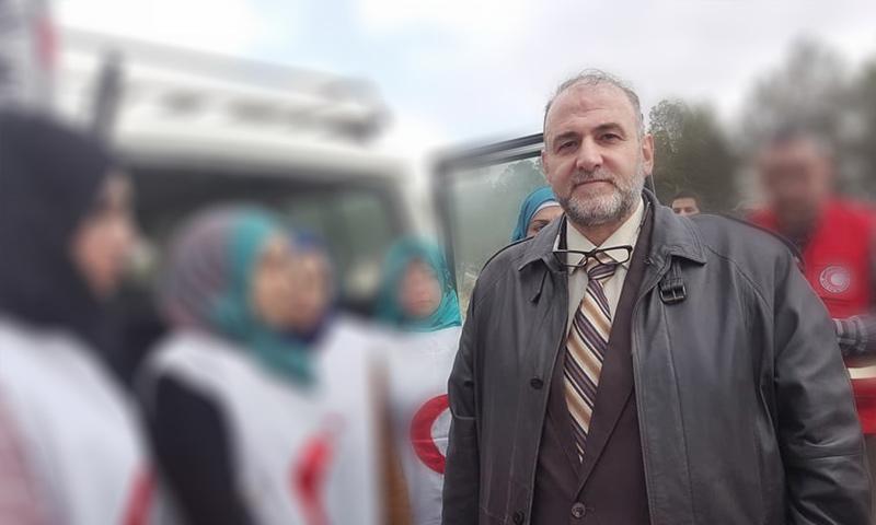 مفاوض الحرس الثوري الإيراني هشام خزامي - (تعديل عنب بلدي)