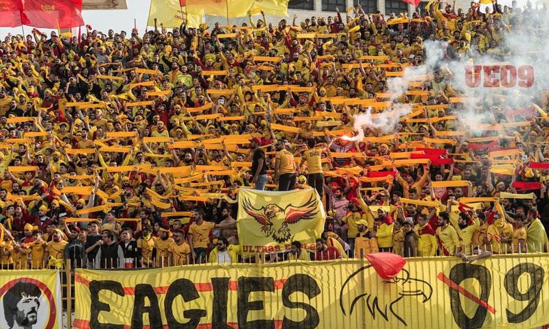 """رابطة جماهير نادي تشرين """"ألتراس إيغيلز"""" في اللاذقية (ألتراس إيغلز)"""