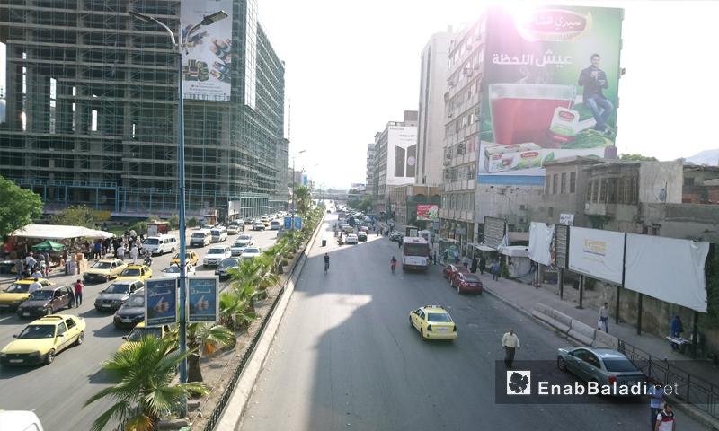 شارع الثورة وسط العاصمة دمشق - 6 من حزيران 2018 (عنب بلدي)