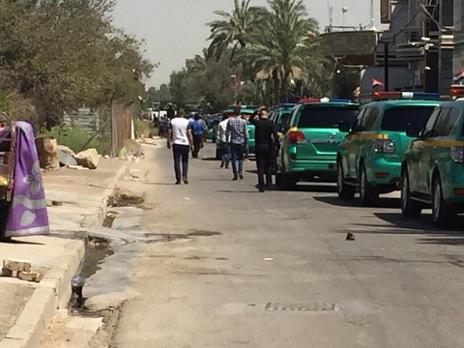 """قوات الأمن العراقية تطوق مقرا لكتائب """"حزب الله"""" بعد مواجهات شرقي بغداد (بغداد اليوم)"""