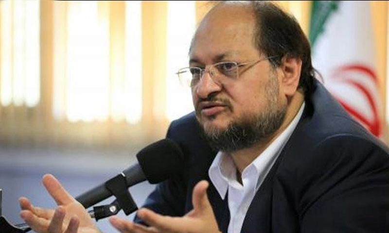 وزير الصناعة والمناجم والتجارة الإيراني محمد شريعتمداري (IRNA)