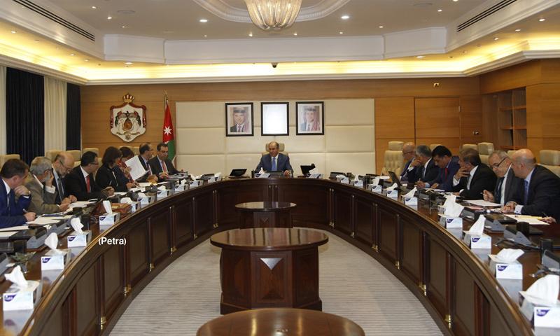 اجتماع لمجلس الوزراء الأردني (بترا)