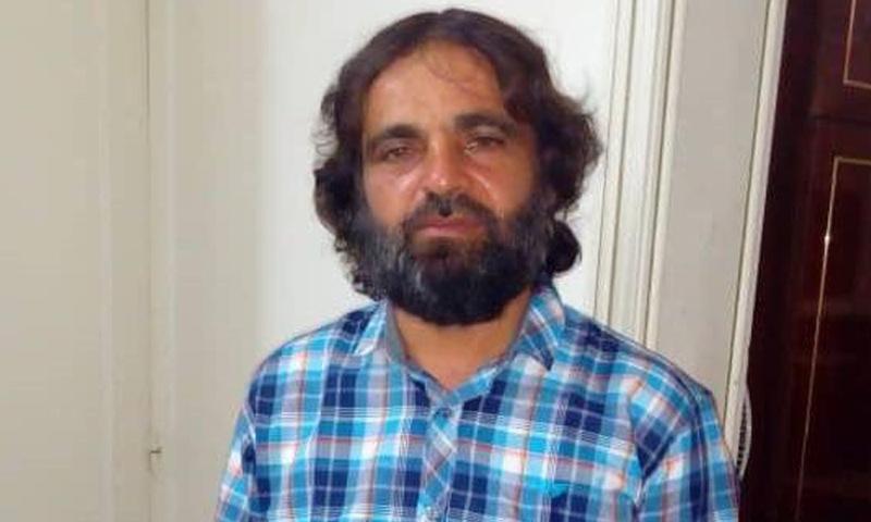 الطبيب محمود السايح بعج الإفراج عنه من قبل فرقة الحمزة - 13 من حزيران 2018 (تويتر)