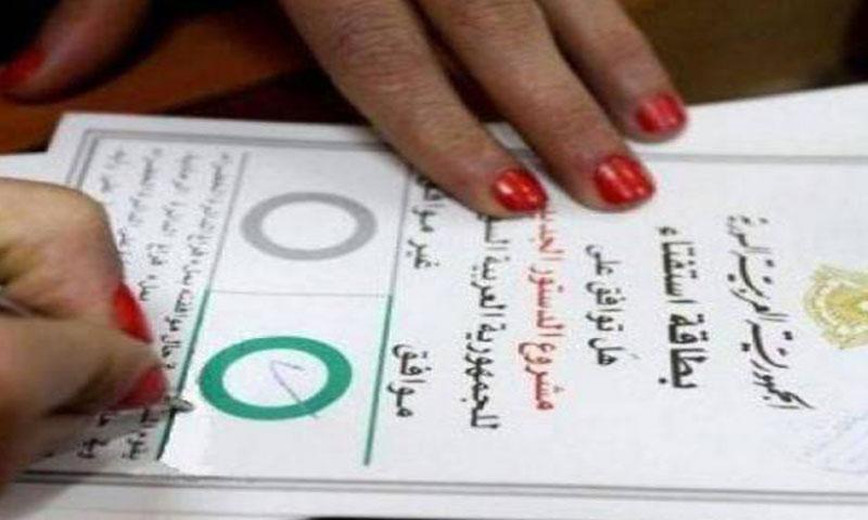 الاستفتاء على الدستور السوري الجديد عام 2012 (إنترنت)