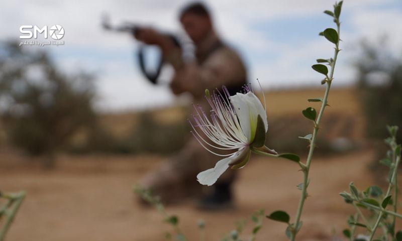 مقاتل في الجبهة الجنوبية في درعا (الهيئة السورية للإعلام)