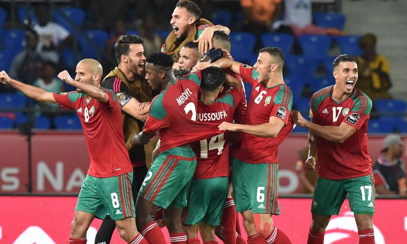 المنتخب المغربي لكرة القدم- ( AFP / Scanpix)