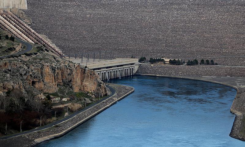 سد أليسو في جنوبي تركيا (ترك برس)