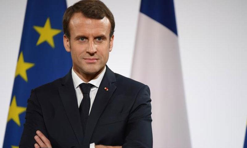 الرئيس الفرنسي ايمانويل ماكرون (فرانس برس)