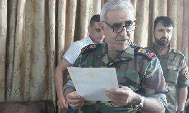 رئيس المخابرات الجوية في سوريا جميل الحسن (انترنت)