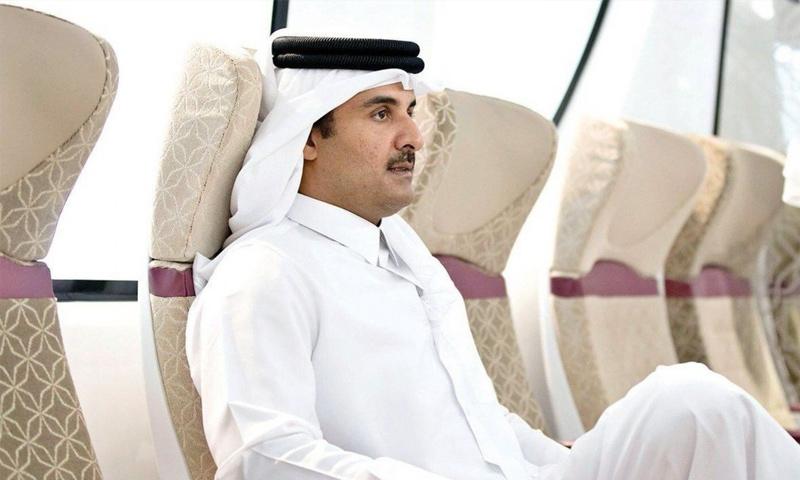 أمير دولة قطر، تميم بن حمد - (انترنت)