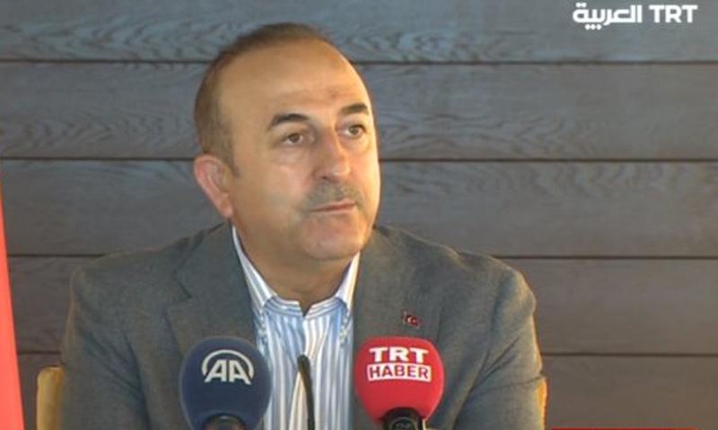 وزير الخارجية التركي مولود جاويش أوغلو - 5 من حزيران 2018 (TRT)